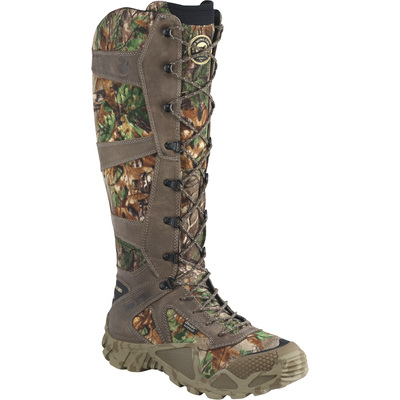 FREE SHIPPING — Irish Setter Vaprtrek Men's 17in. UltraDry Snake Boots with ScentBan - RealTree Hardwoods Green HD, Size 8 1/2