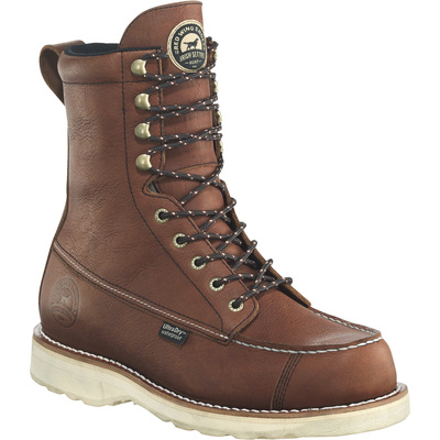FREE SHIPPING — Irish Setter Wingshooter Men's 9in. Waterproof Hunting Boots -Amber, Size 9