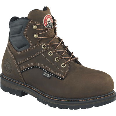 FREE SHIPPING — Irish Setter Ramsey Men's 6in. Waterproof Aluminum Toe EH Work Boots - Brown, Size 11 1/2