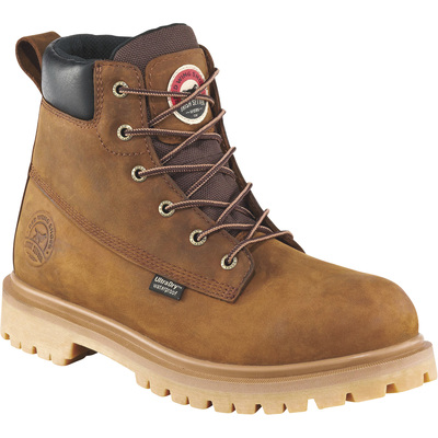 Irish Setter Hopkins Men's 6in. Waterproof Aluminum Toe EH Work Boots — Brown, Size 11 1/2