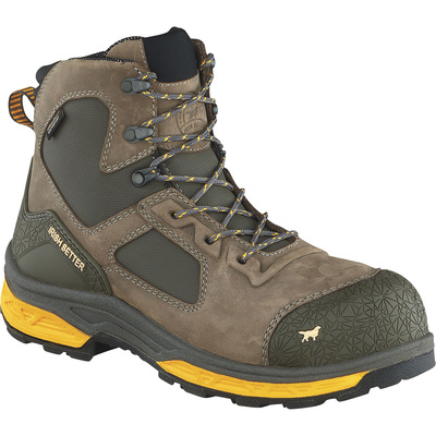 Irish Setter Men's Kasota 6in. Waterproof Nano-Carbon Composite Safety Toe Work Boots — Brown/Gold, Size 13 Wide, Model# 83646E2130