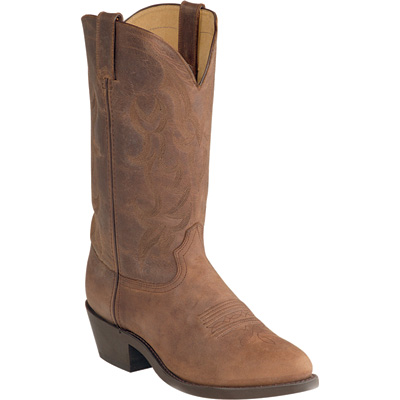 Durango Men's 12in. Leather Western Boot - Tan, Size 13, Model# DB 922
