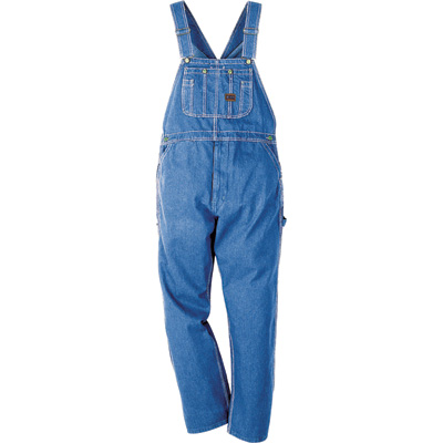 Big Smith Walls Men's Stonewashed Bib Overall - 40in. Waist x 32in. Inseam, Model# B94028