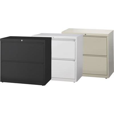 Hirsh Industries 2-Drawer File for Letter-, Legal- or A4-Size Folders — 30in.W x 18.63in.D x 28in.H