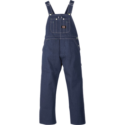 Big Smith Walls Men's Men's Denim Bib Overall - 36in. Waist x 32in. Inseam, Model# B94009