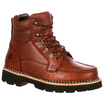 Rocky Men's 6in. Western Cruiser Chukka Casual Boots - Brown, Size 8 Wide, Model# 2984