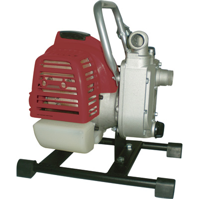 """Self-Priming Water Pump - 1585 GPH, 1in. Ports, 31cc 2-Stroke Engine"""