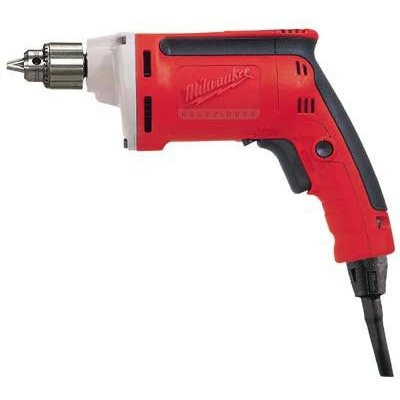 """FREE SHIPPING - Milwaukee Electric Drill - 1/4in., 4000 RPM, 7 Amp, Model# 0101-20"""