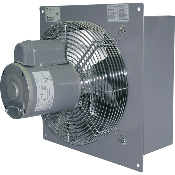 Canarm Wall Exhaust Fan 12in Variable Speed 1 3 Hp