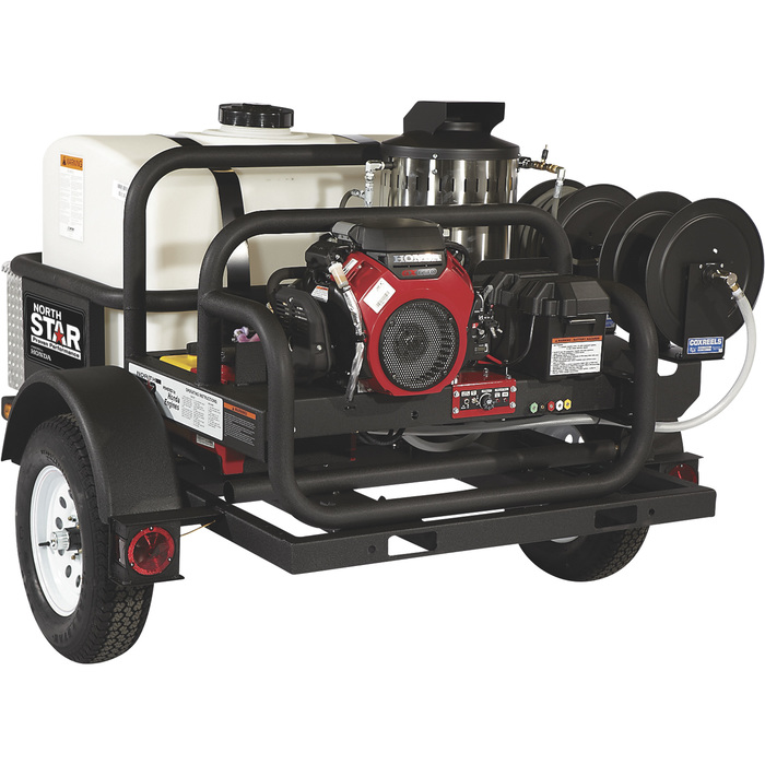 FREE SHIPPING — NorthStar Trailer-Mounted Hot Water ...