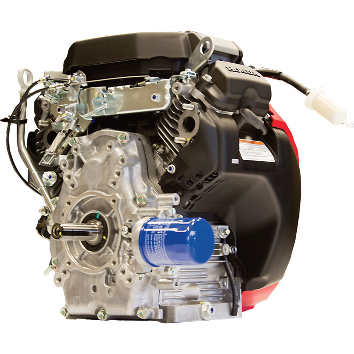 Honda V-Twin Horizontal OHV Engine with Electric Start – 688cc, GX Series, 1in. x 2 29/32in ...