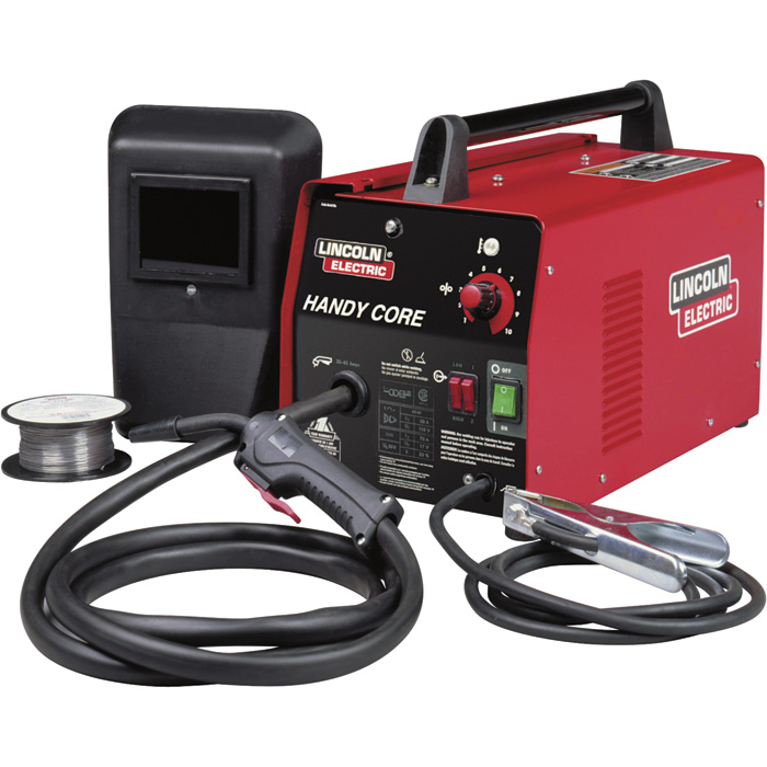 Lincoln Electric Handy Core Flux Core Welder Kit With Face