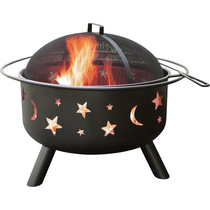 Landmann Fire Pit With Accessories Big Sky Stars And