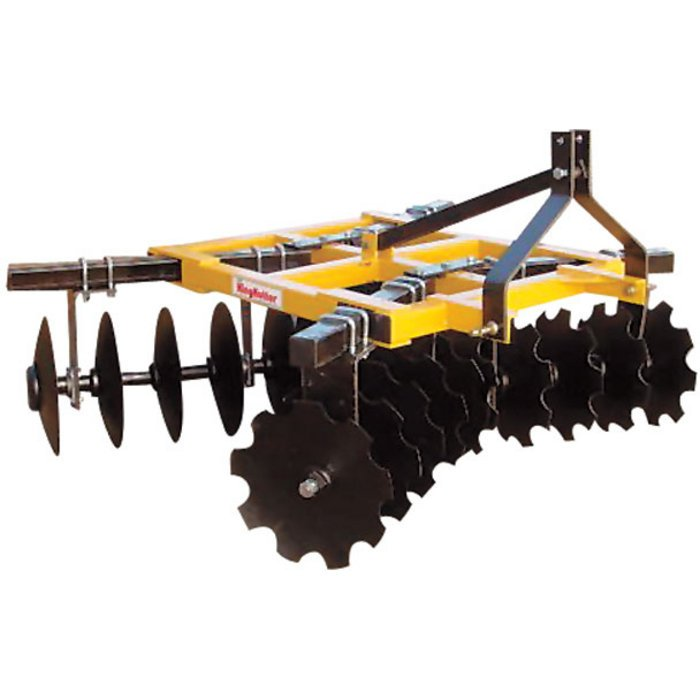 King Kutter Disc Bearing Disassembled : King kutter box frame disc harrow — ft combination