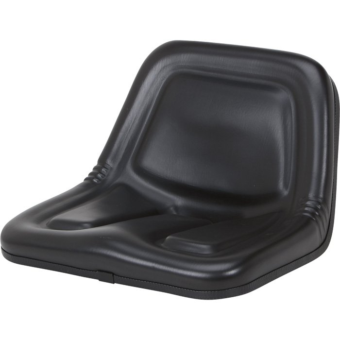 K And M Tractor Seats : K m lawn tractor seat — black model northern