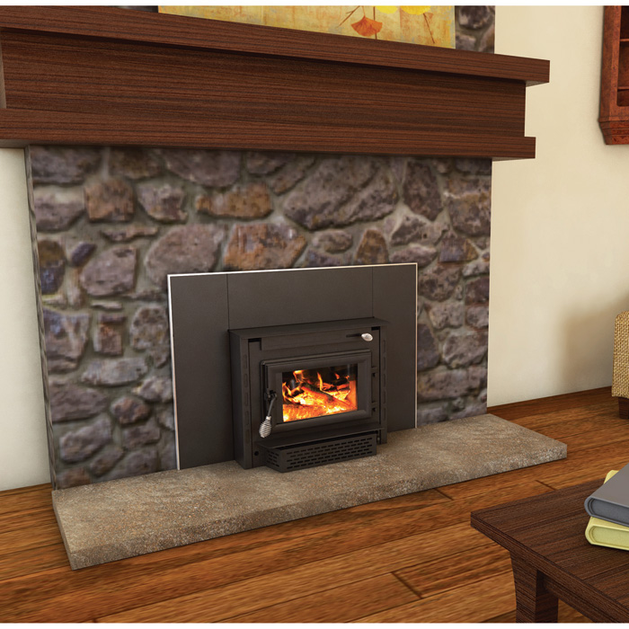United States Stove Company Wood Stove Insert — 69,000 BTU, EPA-Certified,  Model# 2200IE - United States Stove Company Wood Stove Insert — 69,000 BTU, EPA