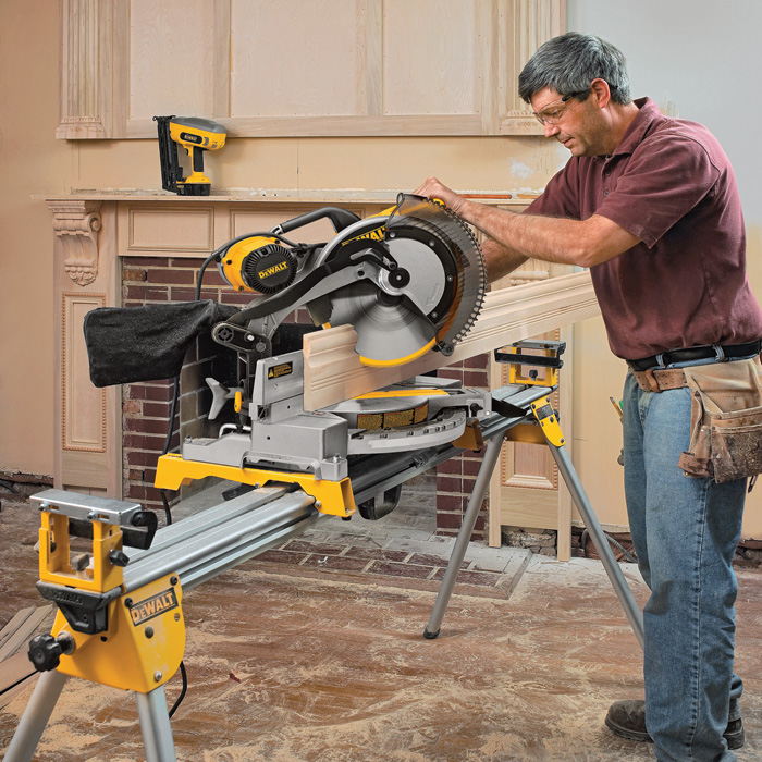 Free Shipping Dewalt Double Bevel Compound Miter Saw