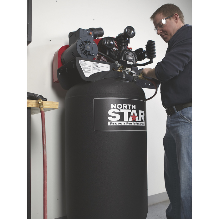 Free Shipping Northstar Electric Air Compressor 5 Hp