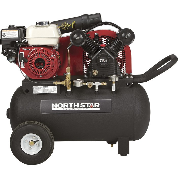 Free Shipping Northstar Portable Gas Powered Air