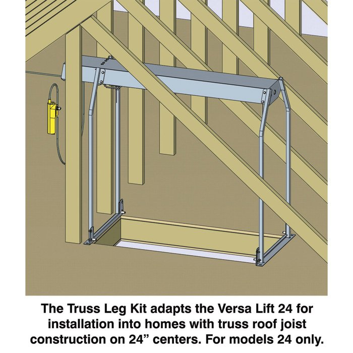 Versa Lift Truss Leg Kit Model Tl 24 Garage Attic