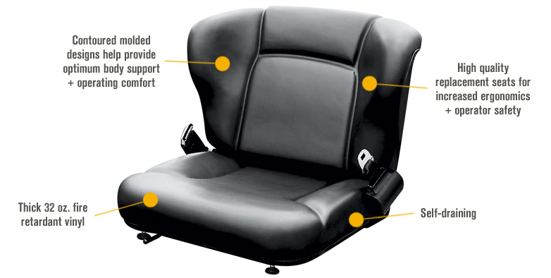 Features for Wise Toyota-Style Universal Bucket Seat Assembly — Black, Model# WM1357