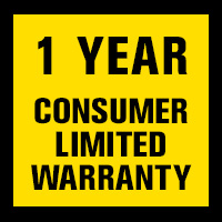 1 Year Consumer Limited Warranty